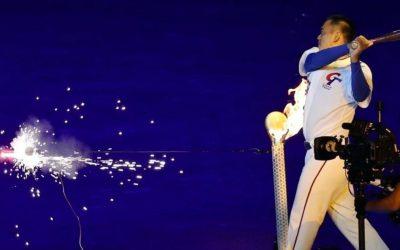 VIDEO: Taiwanese baseball star lights cauldron at Taipei 2017 Universiade