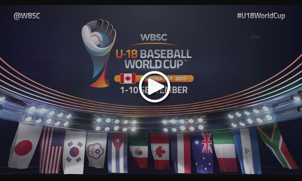 Official 2017 Promo Videos for WBSC U-12 and U-18 Baseball World Cups