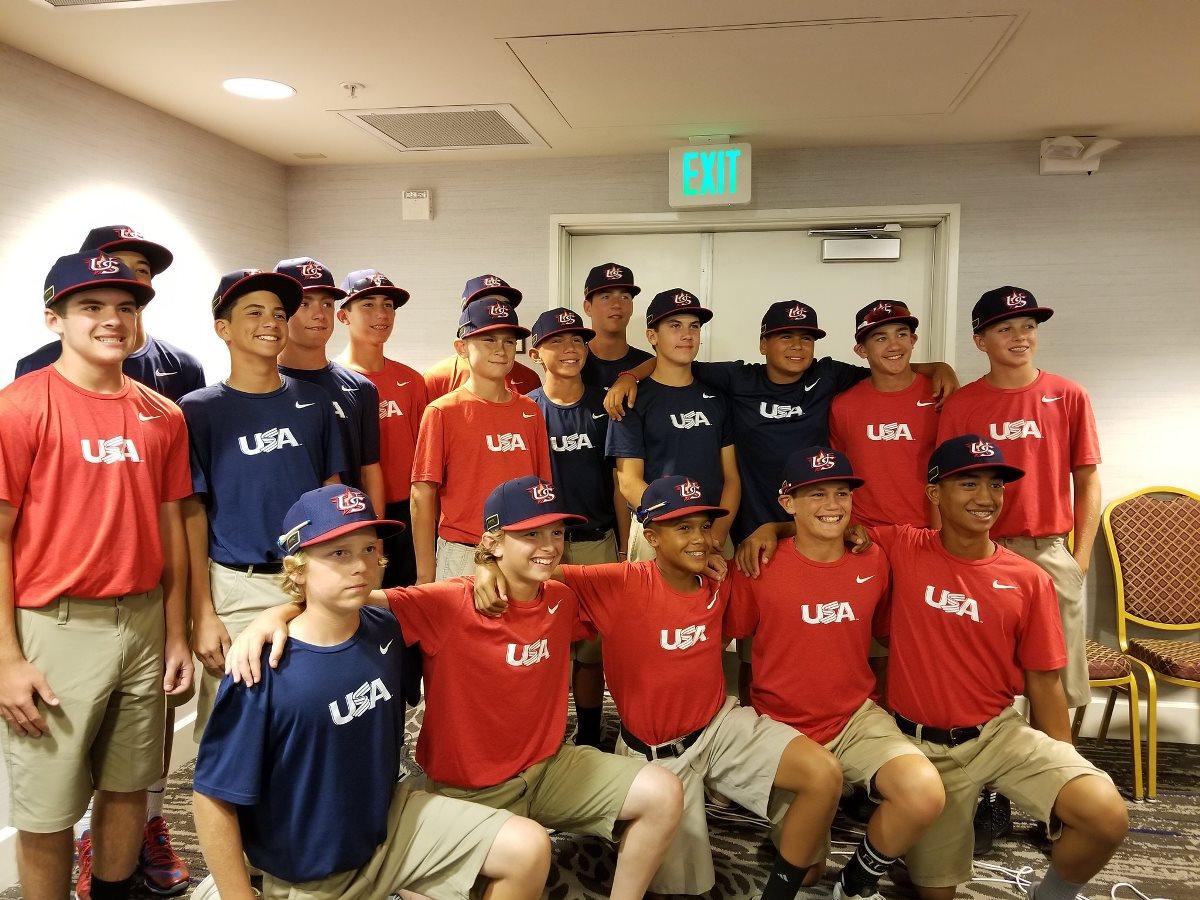미국, 2017 U-12 WBSC 야구월드컵 최종대표팀명단 발표