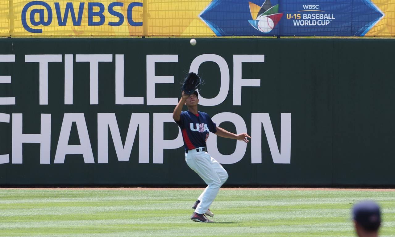 USA vence a Panamá por el tercer puesto de la Copa Mundial de Béisbol WBSC Sub-15 2016