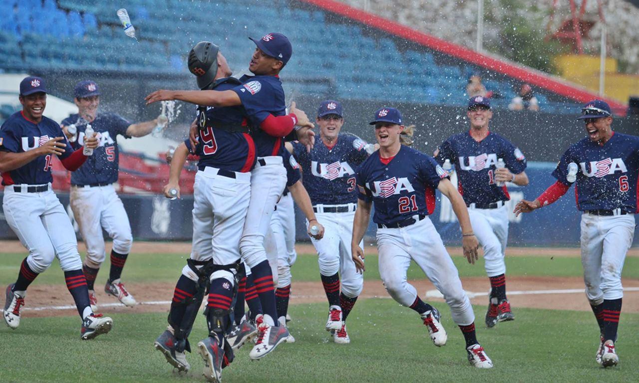 US defeats Cuba to win U-18 Pan-Am crown; Top 4 advancing to U-18 Baseball World Cup 2017