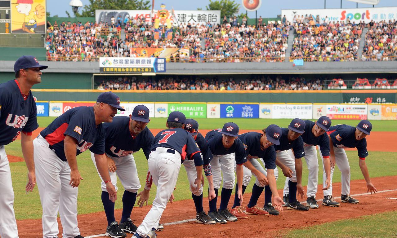 WBSC公佈2017年將在台灣台南舉行的WBSC U-12棒球世界盃分組與視覺標誌