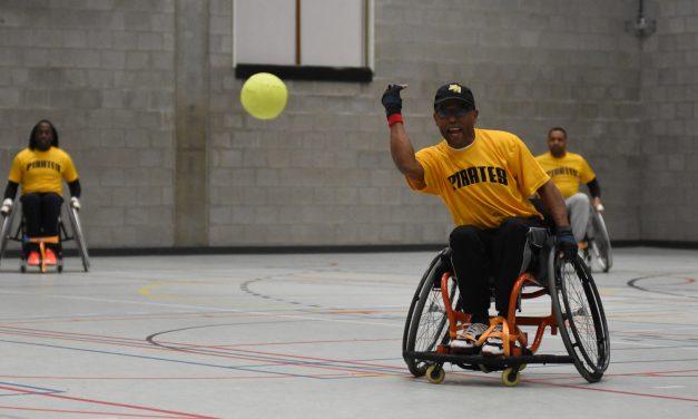 ベルギーで車椅子ソフトボール大会開催
