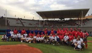 The Spanish Federation celebrates the 25th anniversary of Barcelona Olympic Baseball Tournament