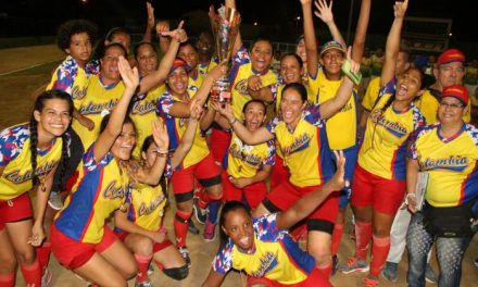 Colombia crowned Women's Softball Champions of South America