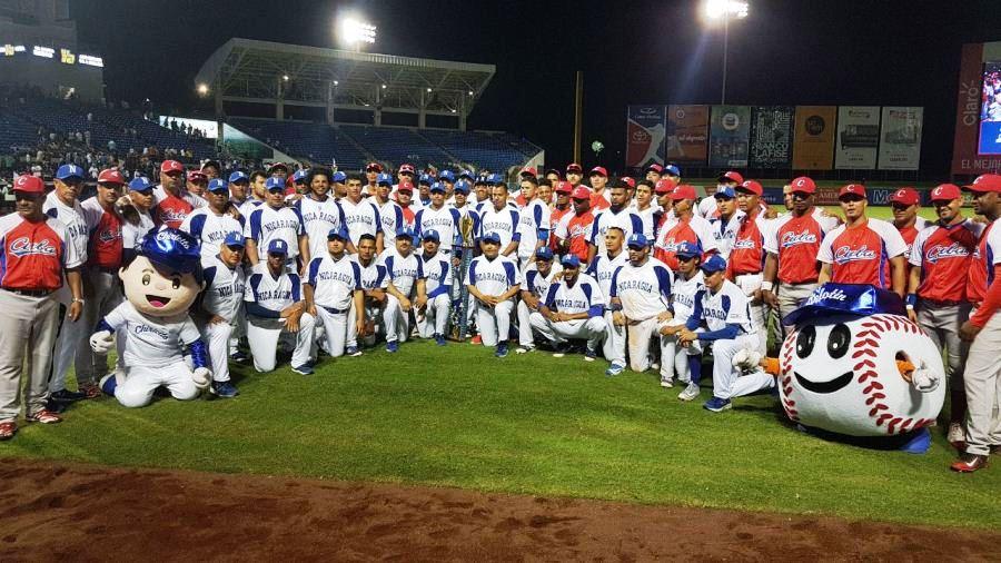 Cuba sweeps baseball series against Nicaragua