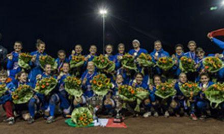 Italia gano el Campeonato Europeo de Softbol Femenino 2015