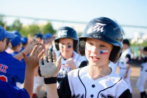 チェコで10歳以下部門の野球大会が開催