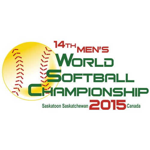 XIV Men's Softball World Championship Logo