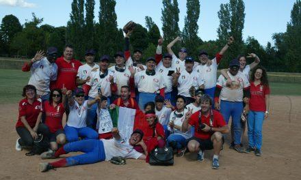 イタリアの視覚障害者のための野球リーグでパトリーニ・マルナーテが優勝