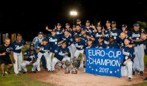 Neptunus Rotterdam, the club on top of European baseball