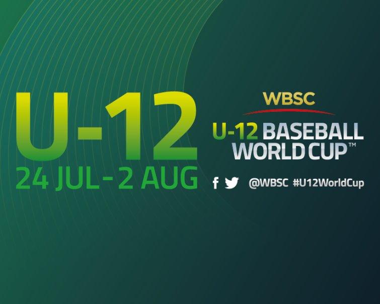 Sigue vía Internet en vivo la Copa Mundial de Béisbol WBSC Sub-12