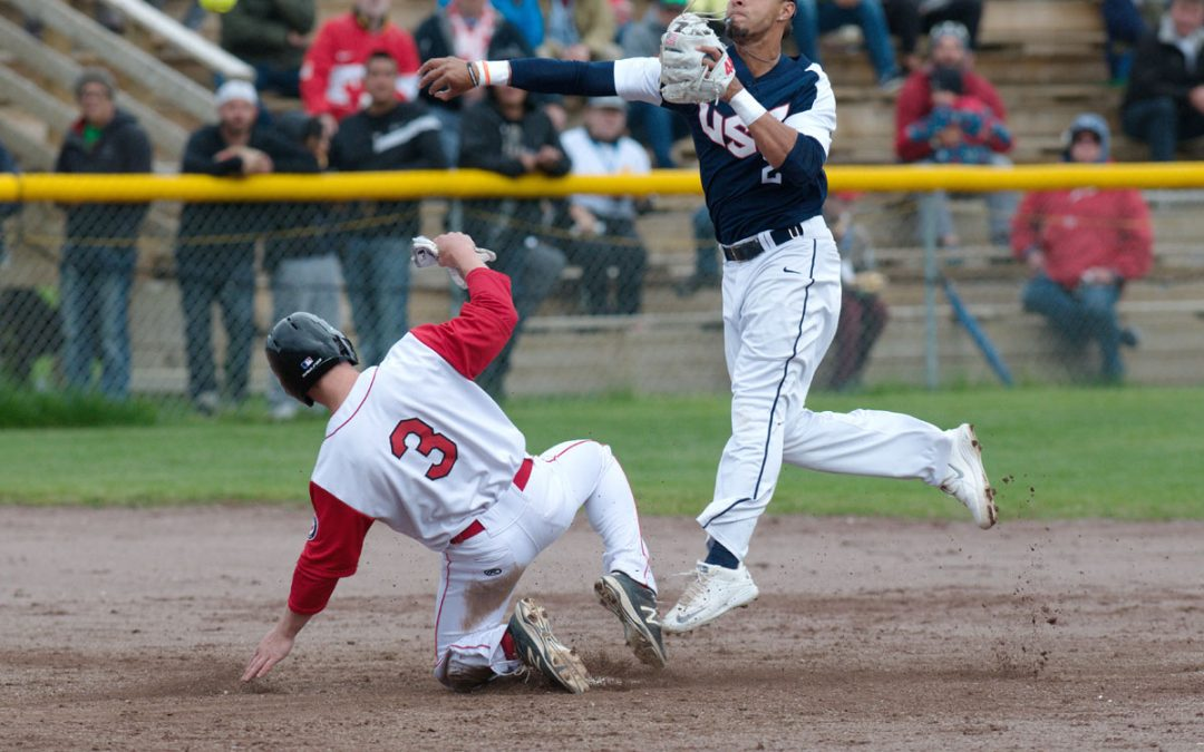 Canada survives scare from USA at WBSC Men's Softball World Championship