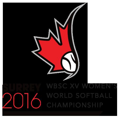 XV Women's Softball World Championship Logo