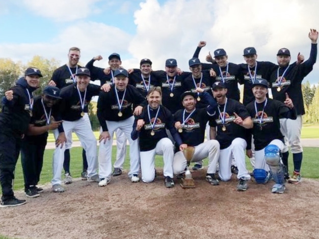Finland: Espoo Expos win National Baseball Championship