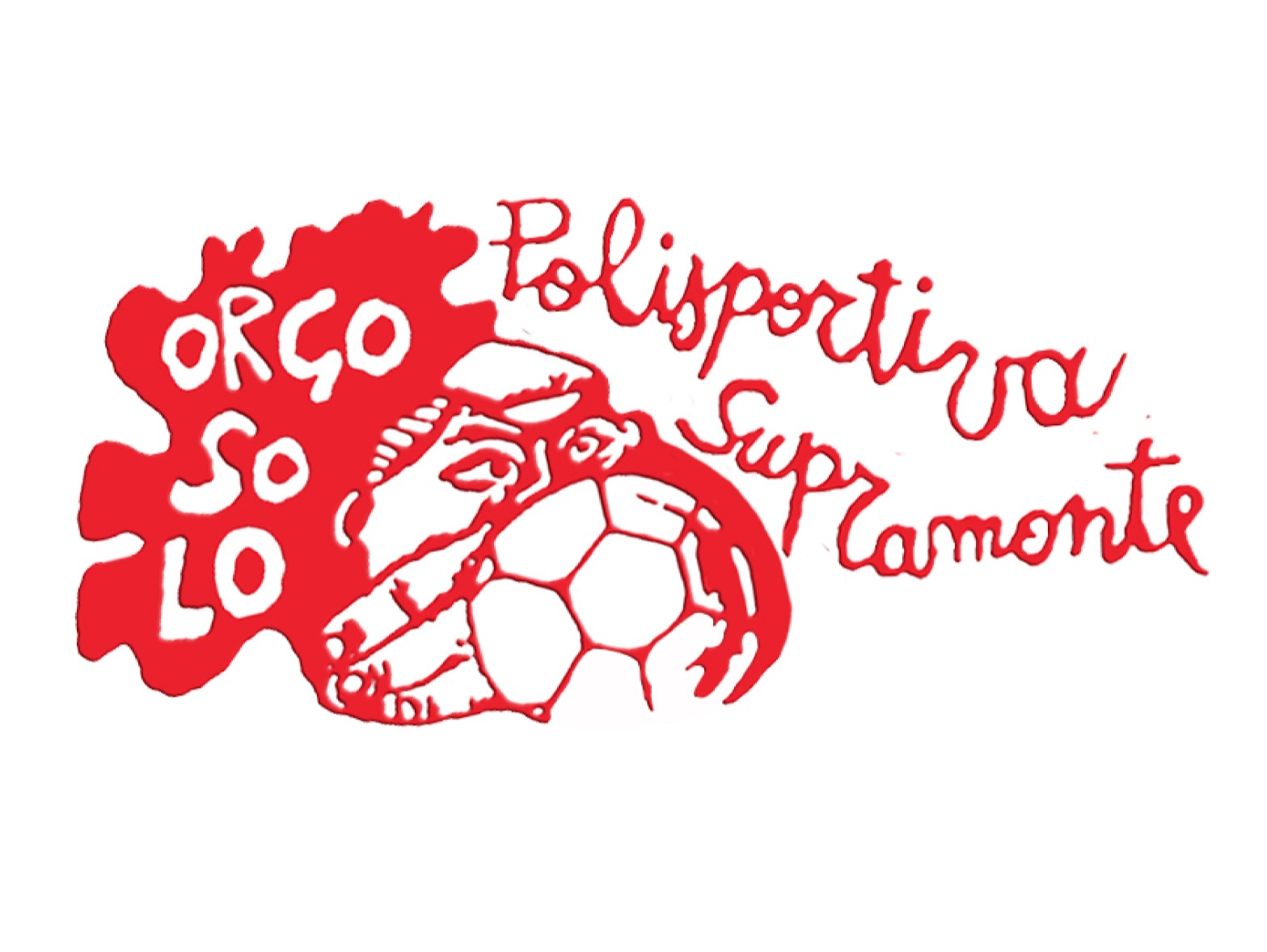 S.S.D. POL. Supramonte flag