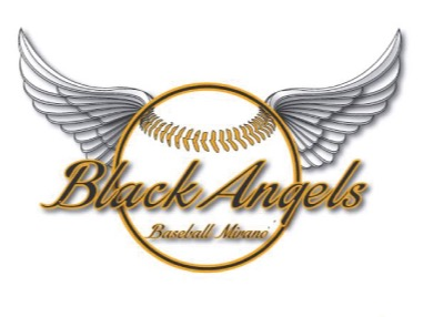A.S.D. Black Angels Baseball Mirano flag