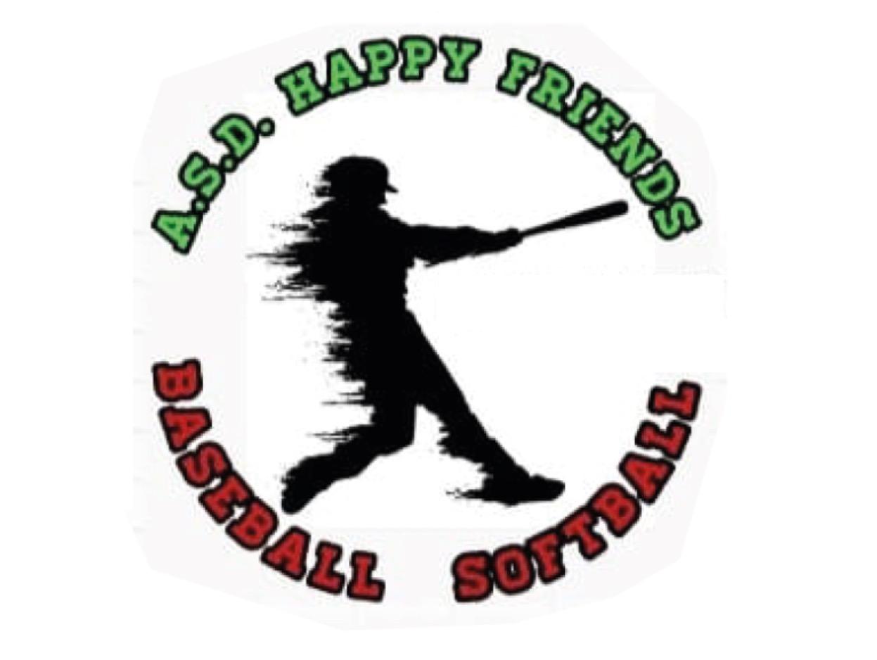 A.S.D. Happy Friends Baseball & Softball flag
