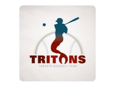 A.S.D. Tritons Baseball Softball flag