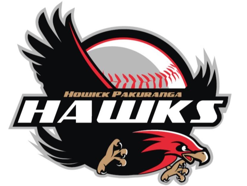 Howick Pakuranga Night Hawks flag