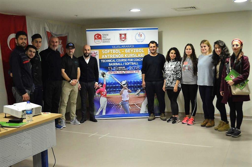 Baseball, softball and Baseball5 seminar in Antalya, Turkey