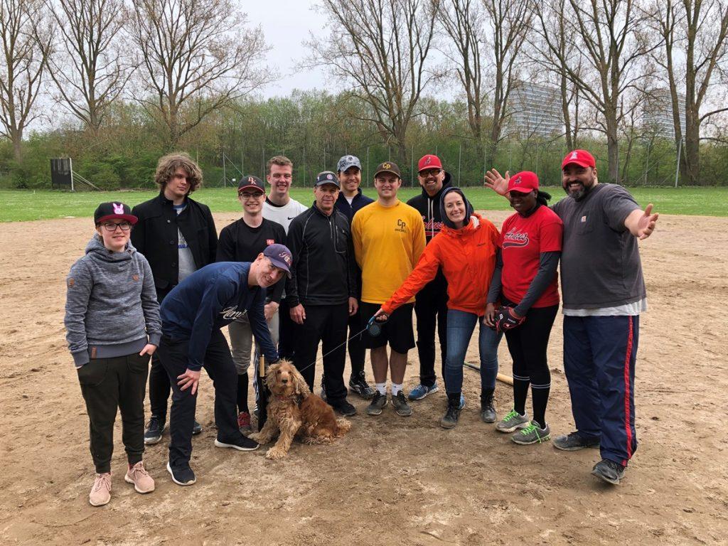 Denmark organized three clinics on baseball basic skills