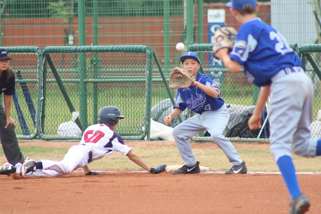 The Czech Republic defeated Italy in placement round day 1