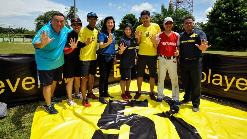 Beng Choo Low attended the Kuala Lumpur Baseball5 Coaching Seminar