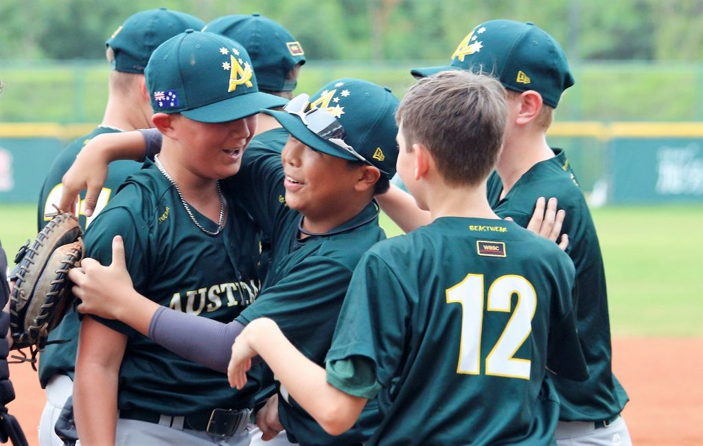 U-12 Baseball World Cup placement round day 1