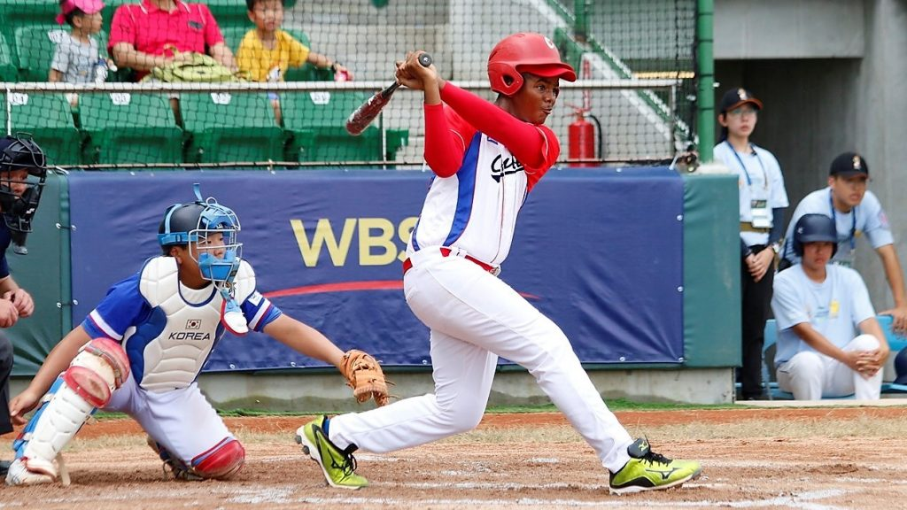 Christian Saez homered to give Cuba the bronze medal