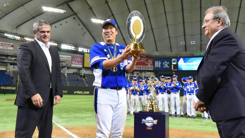 Kim Hyun-soo was the Premier12 2015 MVP