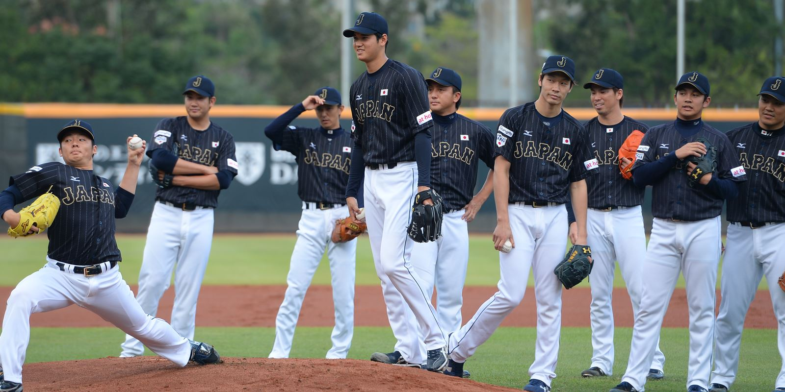Japan National Baseball Team - Piitchers